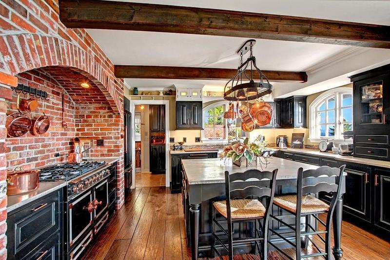 image named 20 Stunning Rustic Kitchen Designs and Ideas 1