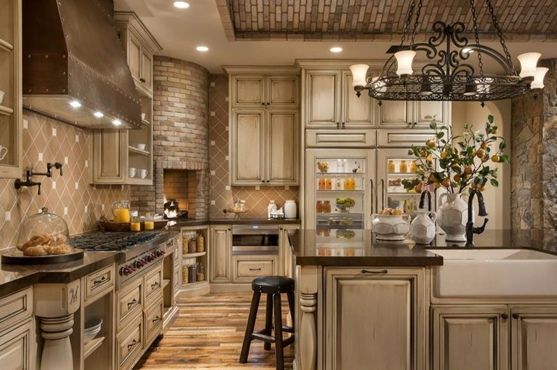 image named 20 Stunning Rustic Kitchen Designs and Ideas 2