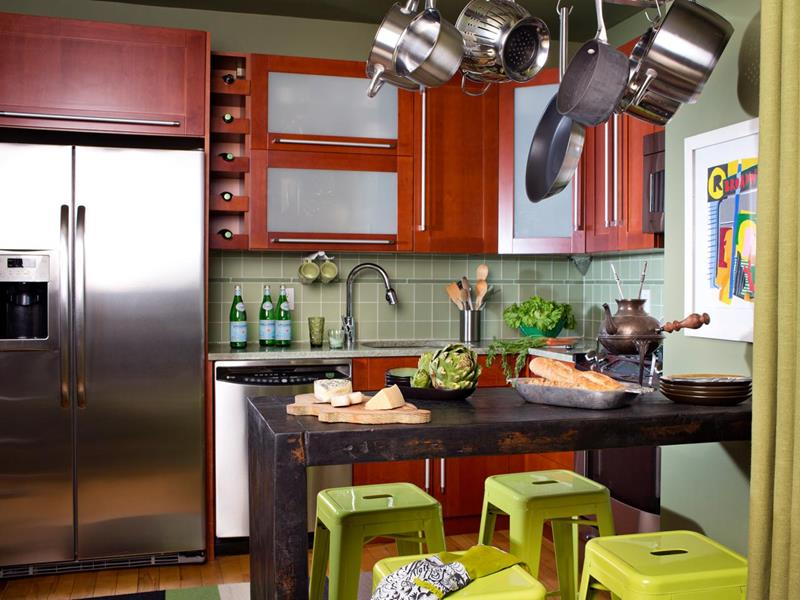 image named 20 Stunning Small Kitchen Designs 16
