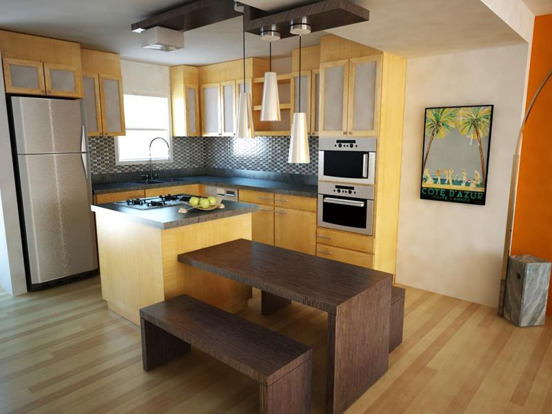 image named 20 Stunning Small Kitchen Designs 8