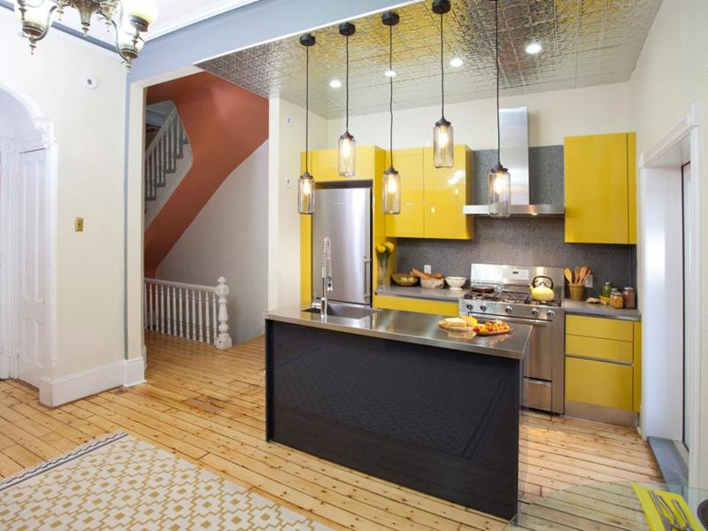 image named 20 Stunning Small Kitchen Designs title