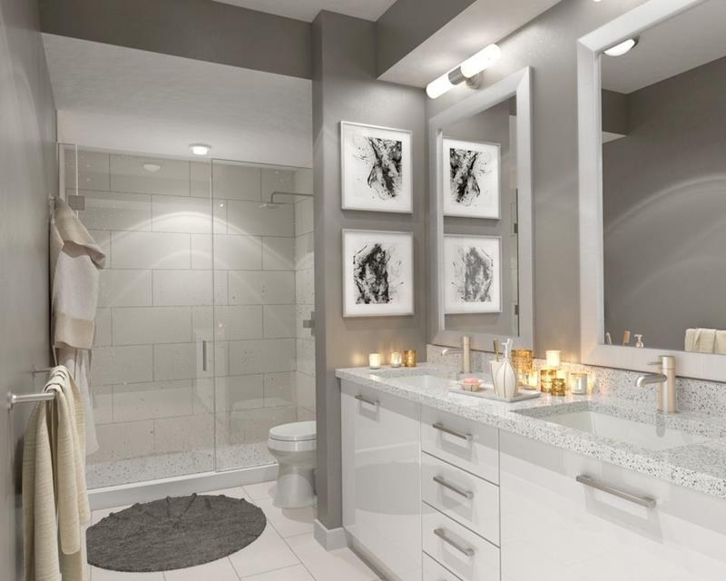 image named 20 Beautiful 3 4 Bathroom Designs 5