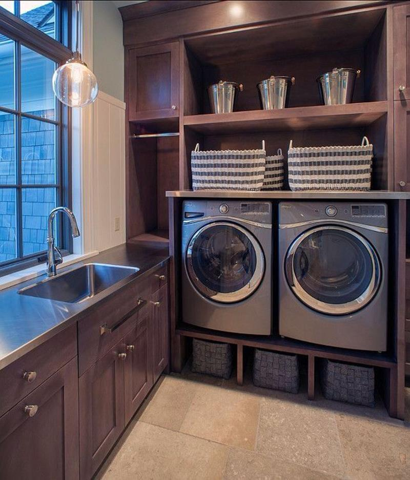 image named 20 Beautiful Laundry Room Designs 1