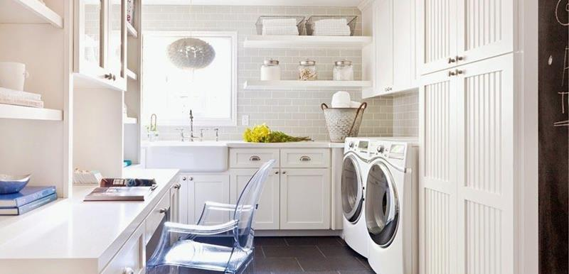 image named 20 Beautiful Laundry Room Designs 12