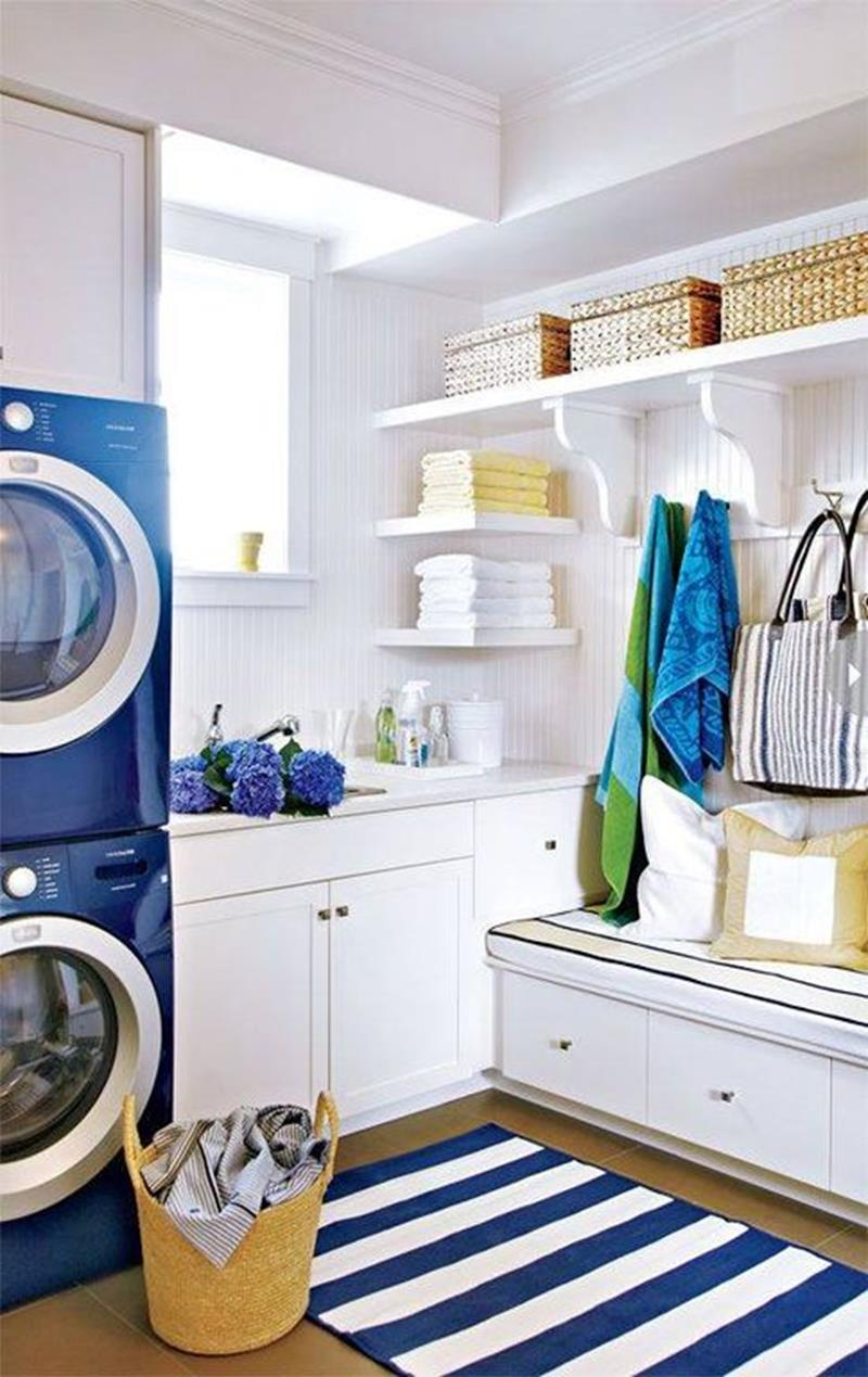 image named 20 Beautiful Laundry Room Designs 13