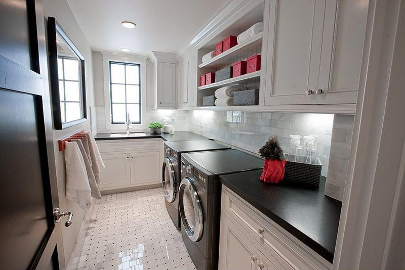image named 20 Beautiful Laundry Room Designs 15