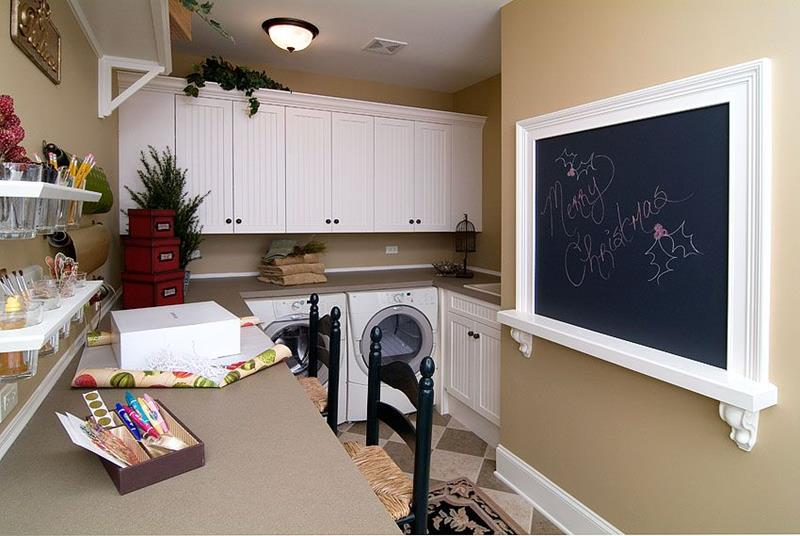 image named 20 Beautiful Laundry Room Designs 19