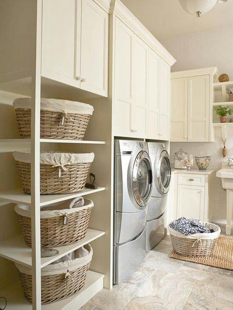 image named 20 Beautiful Laundry Room Designs 4