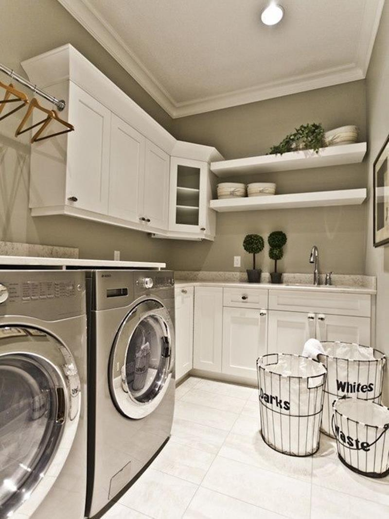 image named 20 Beautiful Laundry Room Designs 5