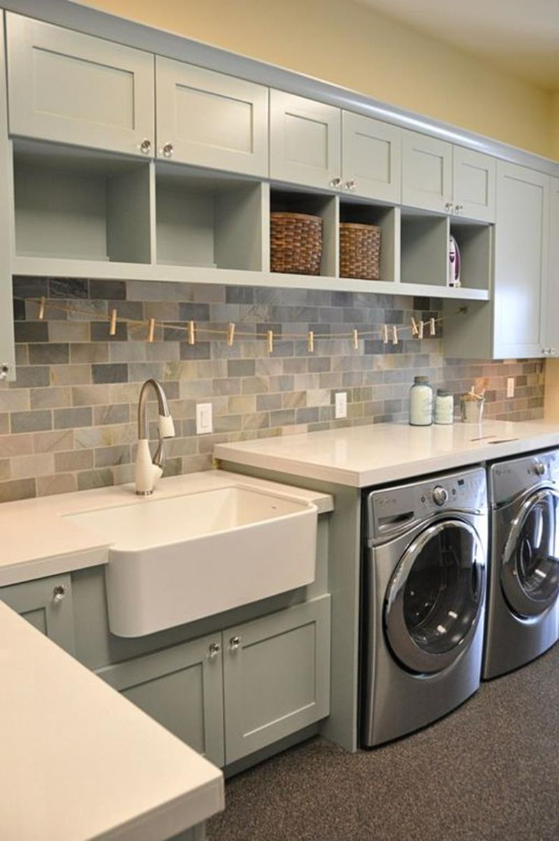 image named 20 Beautiful Laundry Room Designs 6