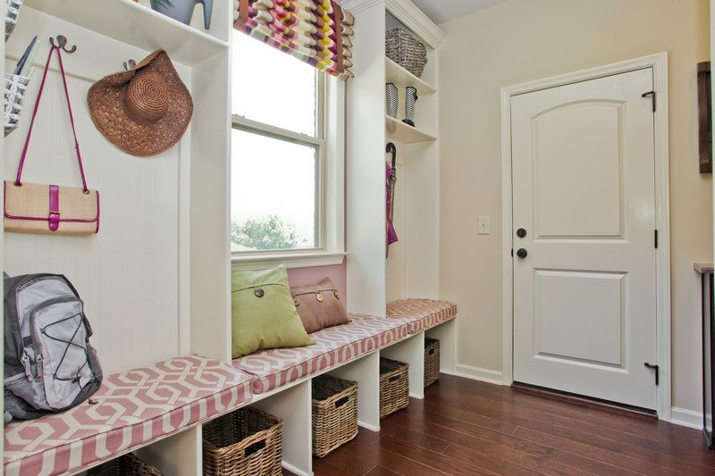 image named 20 Beautiful and Functional Mudroom Designs title