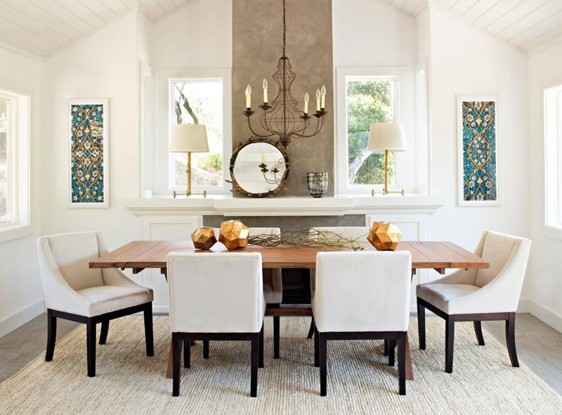 image named 20 Gorgeous Dining Room Design Ideas 2