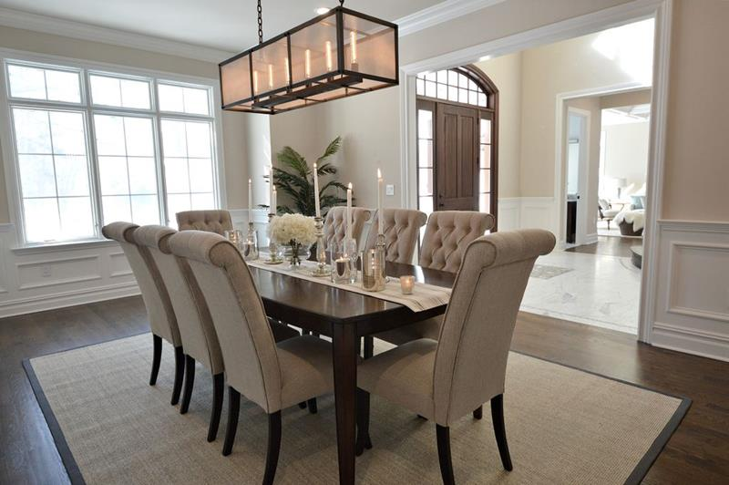 image named 20 Gorgeous Dining Room Design Ideas title