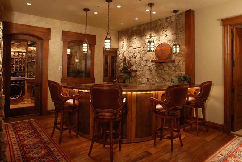 image named 20 Home Bar Design Ideas 11