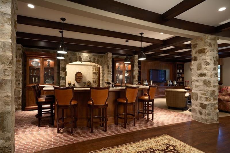 image named 20 Home Bar Design Ideas 13