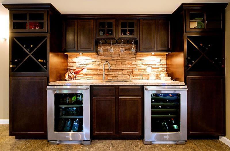 image named 20 Home Bar Design Ideas 2