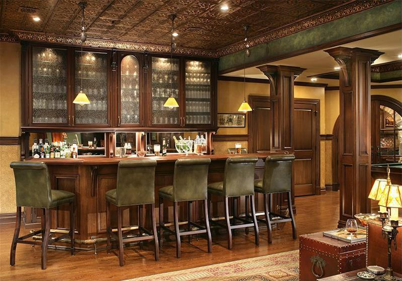 image named 20 Home Bar Design Ideas 9