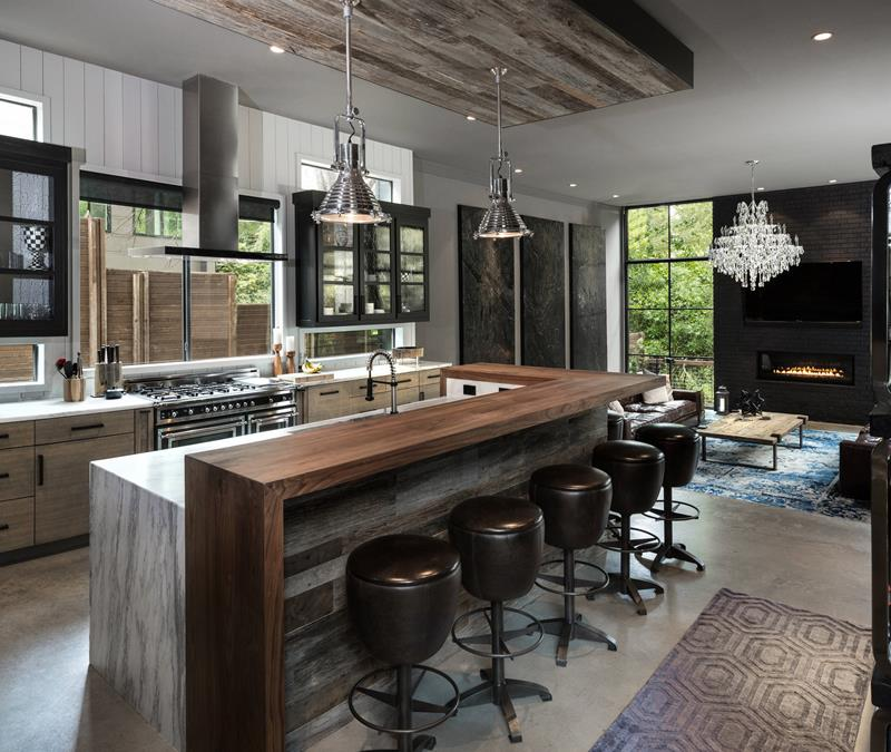 image named 20 Open Concept Kitchen Designs title