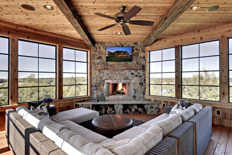 image named 20 Stunning Family Room Design Ideas title