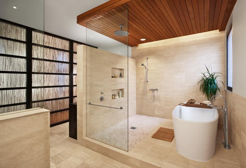 image named 20 Stunning Large Master Bathroom Design Ideas 17