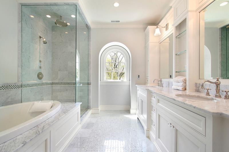 image named 20 Stunning Large Master Bathroom Design Ideas title
