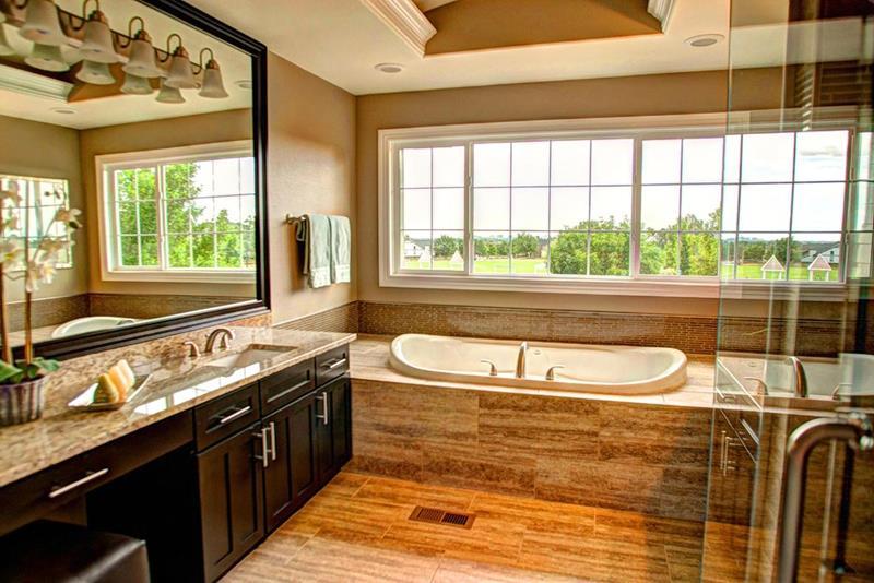 image named 20 Stunning Master Bathroom Design Ideas 12
