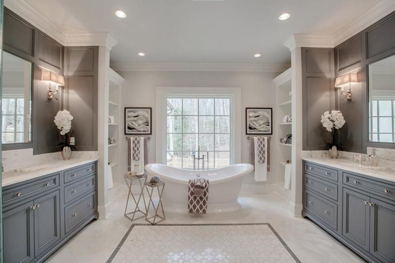 image named 20 Stunning Master Bathroom Design Ideas 15