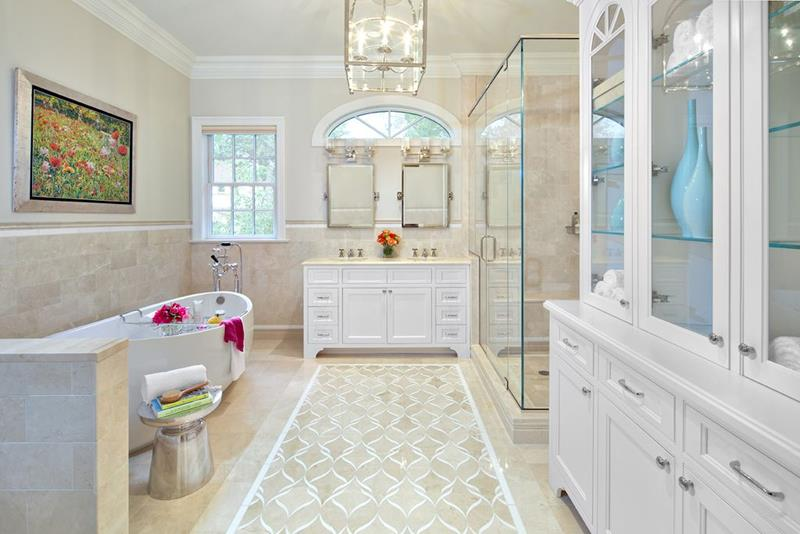 image named 20 Stunning Master Bathroom Design Ideas 19