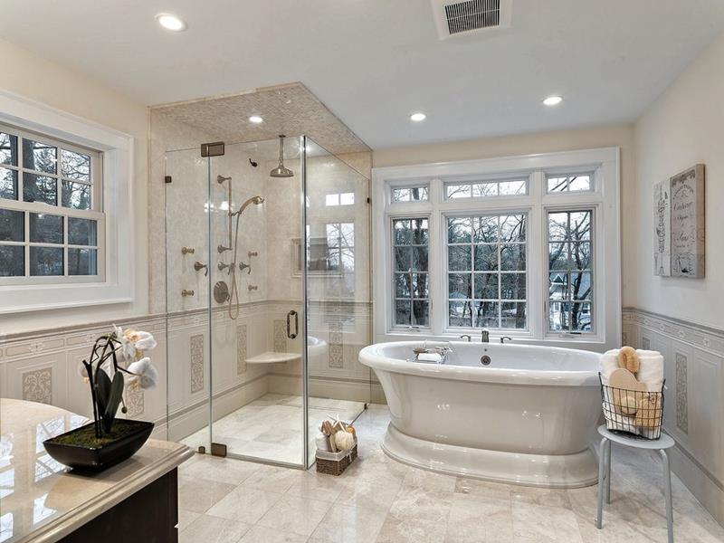 image named 20 Stunning Master Bathroom Design Ideas 6