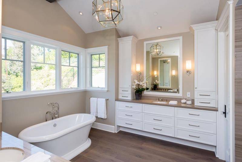 image named 20 Stunning Master Bathroom Design Ideas 9