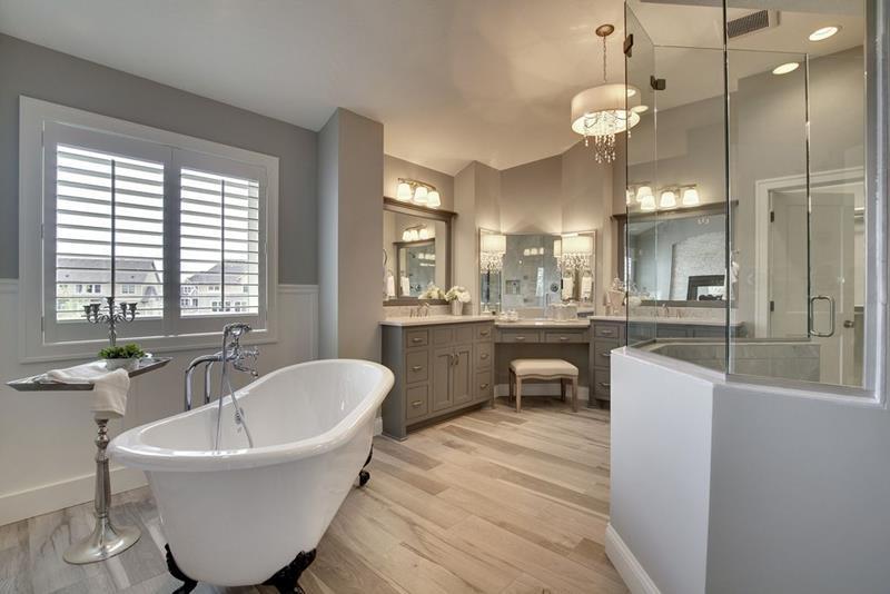 image named 20 Stunning Master Bathroom Design Ideas title