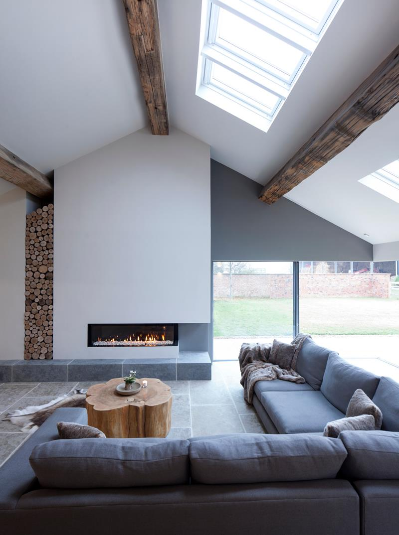 20 breathtaking open concept living room design ideas