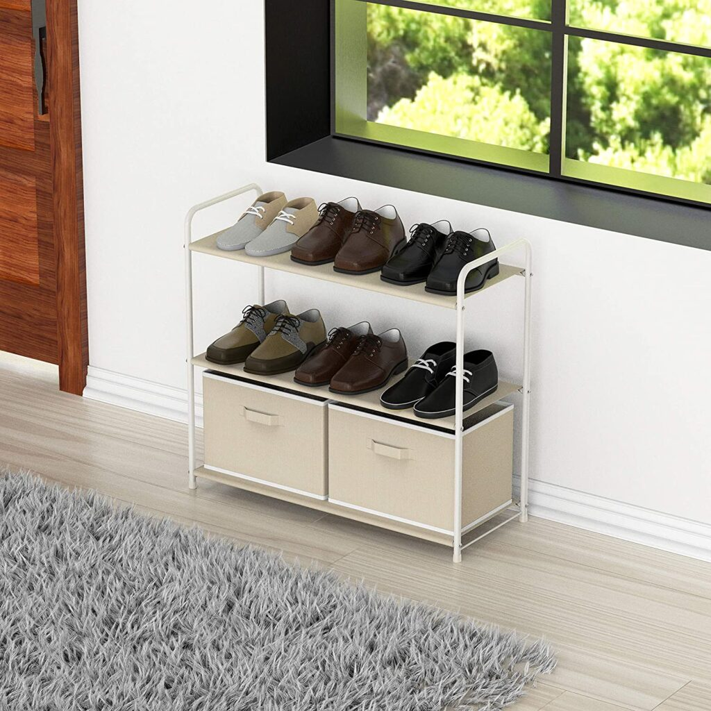 Simple Houseware Closet Storage with Drawers